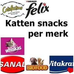 Kattensnacks per merk