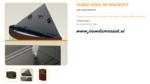 Ferplast - Dubai Corner 90 Walnoot 66x93x57cm