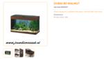 Ferplast - Dubai 80 Walnoot 81x36x51cm