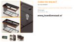 Ferplast - Dubai 100 Walnoot 101x41x53cm