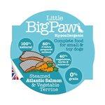 Little Big Paw Gestoomde Atlantische Zalm / Groenten Dinner Hondenvoer