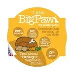 Little Big Paw malse kalkoen/ Groenten Dinner Hondenvoer