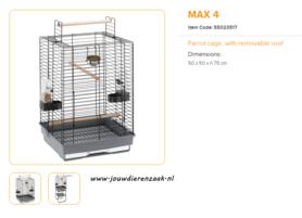 Ferplast - Max 4 50 x 50 x 75 cm