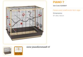 Ferplast - Piano 7 97 x 58 x 83 cm