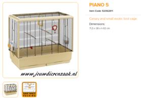 Ferplast - Piano 5 71 x 38 x 63 cm
