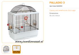 Ferplast - Palladio 3 50 x 30 x 64 cm