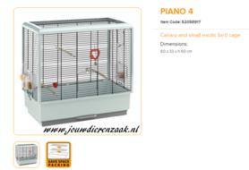 Ferplast - Piano 4 60 x 33 x 60 cm