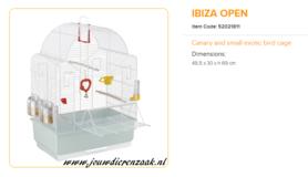 Ferplast - Ibiza Open 50 x 30 x 69 cm