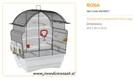 Ferplast - Rosa Zwart 46,5 x 28 x 54 cm