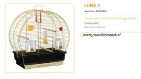 Ferplast - Luna 2 Messing 45 x 25 x 45,5 cm