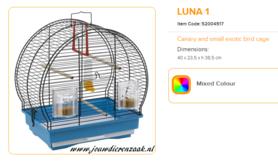 Ferplast - Luna 1 40 x 23,5 x 38,5 cm