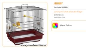 Ferplast - Giusy 39 x 26 x 37 cm