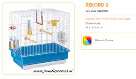 Ferplast - Rekord 2 40 x 25 x 41 cm
