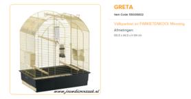 Ferplast - Greta 69.5 x 44,5 x 84 cm