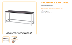 Ferplast - Aluminium Frame Classic Star 200 202x62x80.5cm