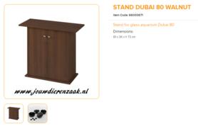Ferplast - Meubel Dubai 80 Walnoot 81x36x73cm