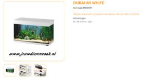 Ferplast - Dubai 80 Wit 81x36x51cm