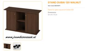 Ferplast - Meubel Dubai 120 Walnoot 121x41x73cm
