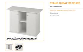 Ferplast - Meubel Dubai 120 Wit 121x41x73cm