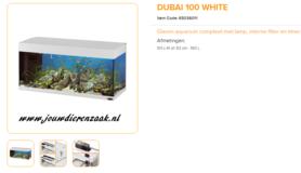Ferplast - Dubai 100 Wit 101x41x53cm