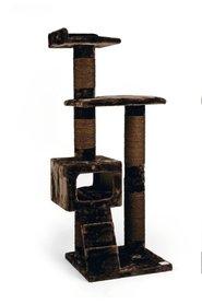 Beeztees Krabmeubel Cat Seco 60x55x166cm bruin