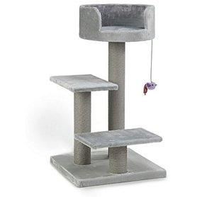 Beeztees Krabmeubel Figo 50x50x92cm grijs