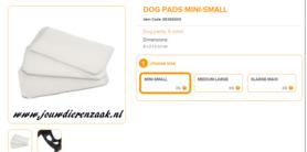 Ferplast - Dog Pads Mini - Small 6 x 3 cm