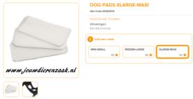 Ferplast - Dog Pads Extra Large - Maxi 9,5 x 5,5 cm