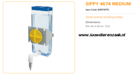 Ferplast - Sippy 4674 Medium 300 ml