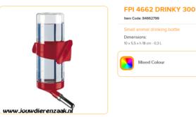 Ferplast - FPI 4662 Drinky 300 ml