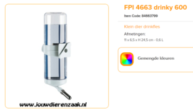 Ferplast - FPI 4663 Drinky 600 ml