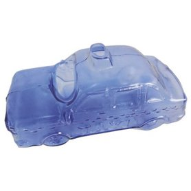 SuperFish Glass Deco Car Blauw (12x7x6cm)
