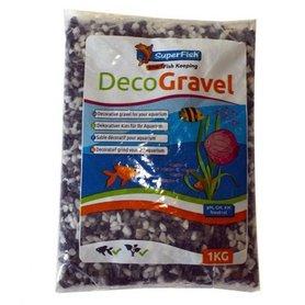 SuperFish Deco Grind Mix Wit-Zwart-Grijs 1 KG
