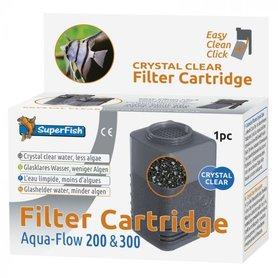 SuperFish Aqua Flow 200/300 Crystal Cartridge 1x