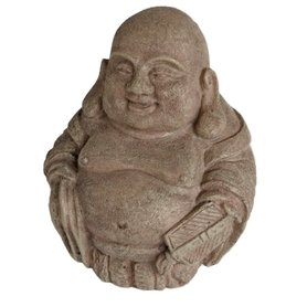 SuperFish Zen Deco Laughing Buddha Large (11x11x19cm)