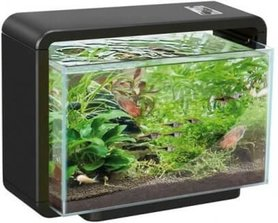 SuperFish Home 15L Aquarium Zwart (34x25x28,5cm)