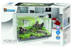SuperFish Home 25 Aquarium Wit