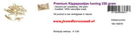 Braaaf Premium Kippepootjes Honing 250 Gram