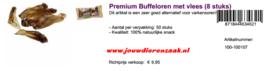 Braaaf Premium Buffeloren Met Vlees 8 Stuks