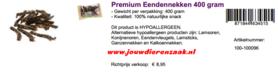 Braaaf Premium Eendennekken 400 Gram