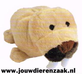 Hondenspeelgoed Pluche Walrus met Piep 25 Cm