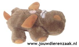 Hondenspeelgoed Pluche Soft Hond Bruin 22 Cm