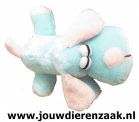 Hondenspeelgoed Pluche Soft Hond Blauw 22 Cm