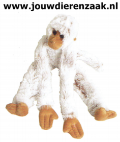 Hondenspeelgoed Slingeraap Groot met Geluid Soft Bruin