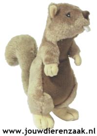 Hondenspeelgoed Pluche Eekhoorn met Piep 30 Cm
