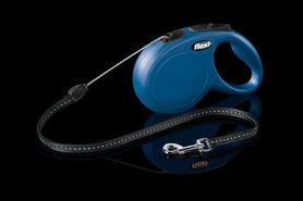 Flexi Rollijn Classic Cord S 8 Meter Blauw
