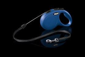 Flexi Rollijn Classic Cord S 5 Meter Blauw