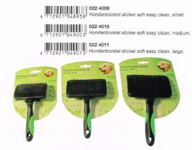 Honden Borstel Slicker Soft Easy Clean Medium