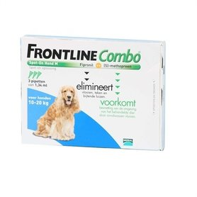 Frontline Combo - Frontine Combo Hond M 3 Pipetten