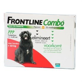 Frontline Combo - Frontine Combo Hond XL 3 Pipetten